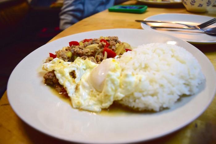 タイ料理ガパオライス