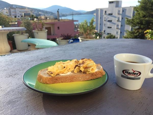 ベニホステルの朝食