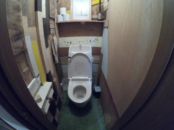 スローハウス京都のトイレ