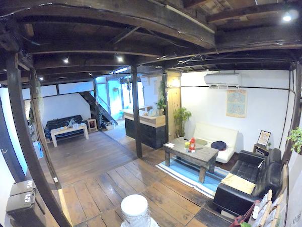 スローハウス京都の共有スペース