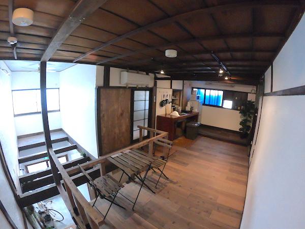 スローハウス京都の2階