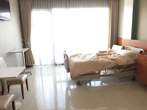 ロイヤルアンコール国際病院の病室