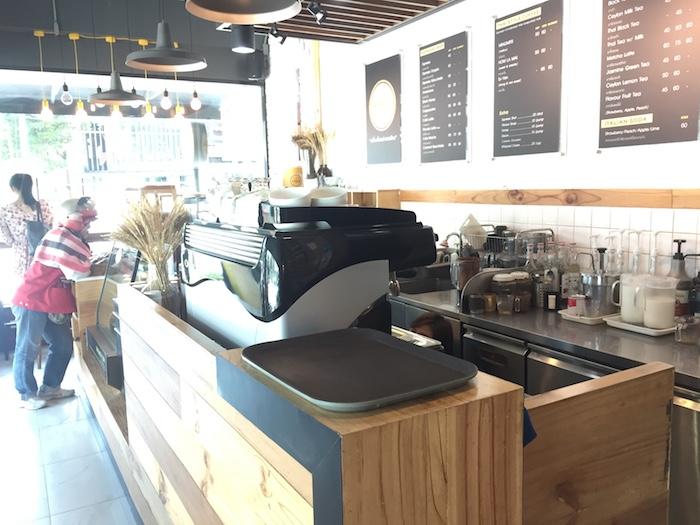 「Mingmitr Coffee」カウンター