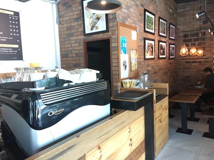Mingmitr Coffeeの店内