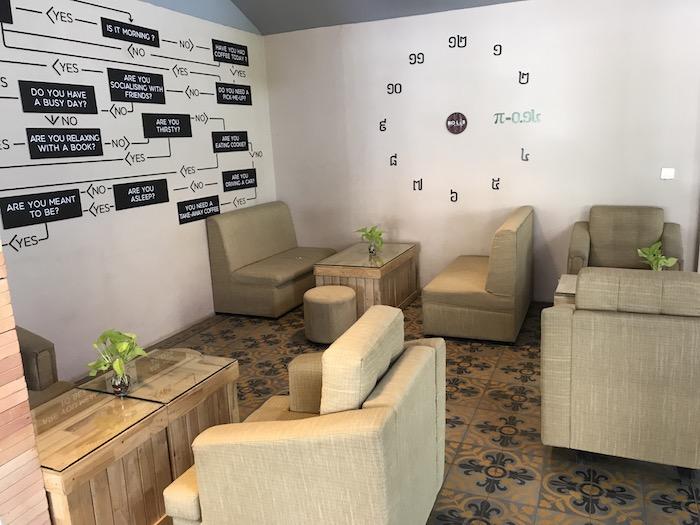 BioLAB Coffee & Officeの店内