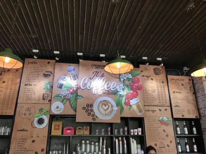 「Temple Coffee n Bakery」のメニュー