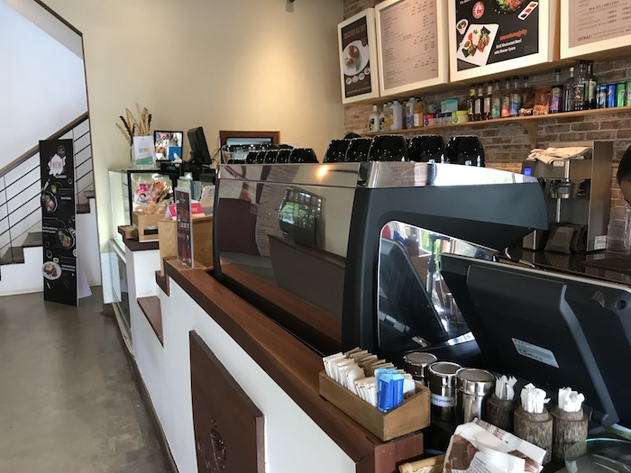 Gloria Jean's Coffeeの店内