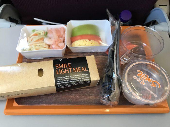 タイスマイル国際線の機内食