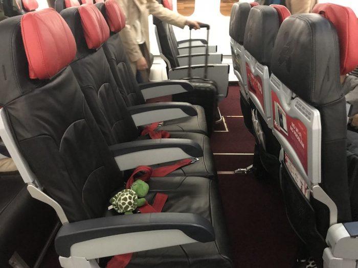 エアアジア座席指定