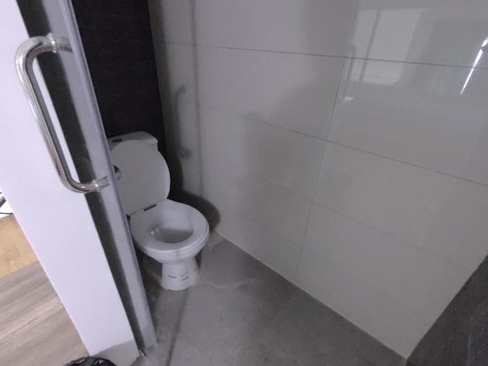 Benny's City Hotelの2階トイレ