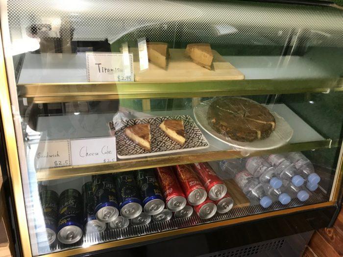 The Coffeeholicのケーキ