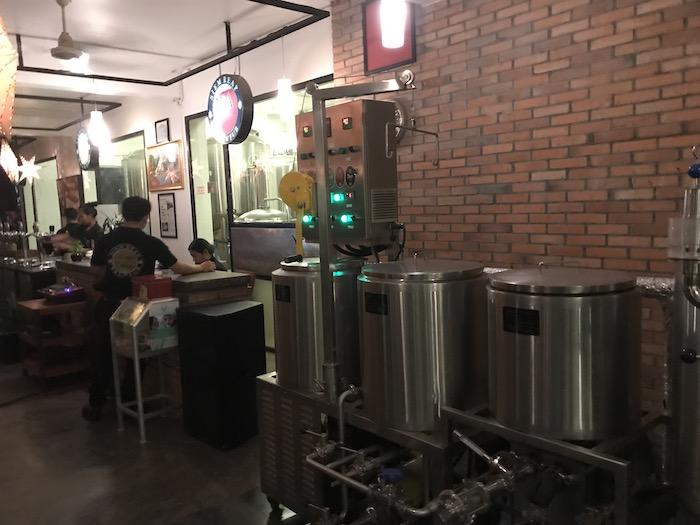 ブリューパブのビール