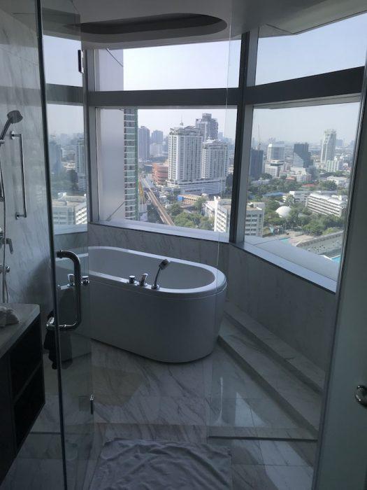 バンコク マリオットホテル スクンビットのお風呂