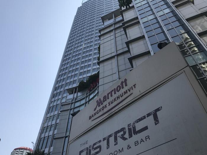 バンコク マリオットホテル スクンビット