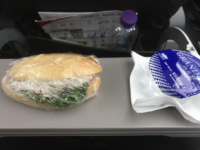 タイライオンエアの機内食