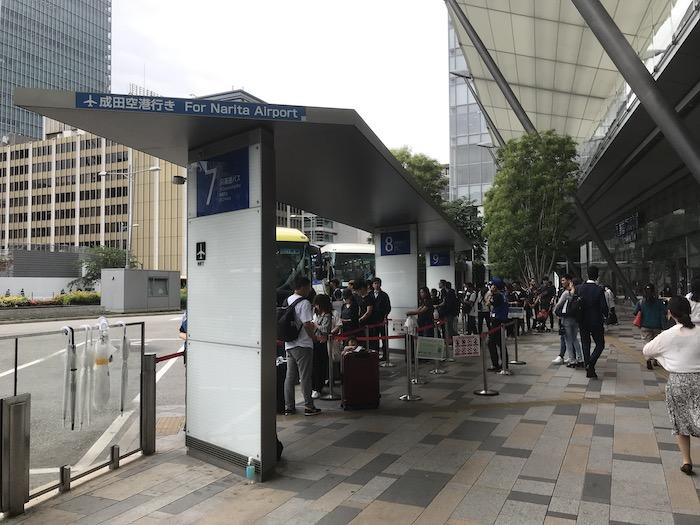 THEアクセス成田の乗り場