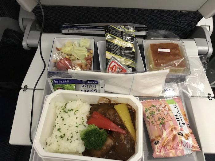 ANA金浦〜羽田線の機内食