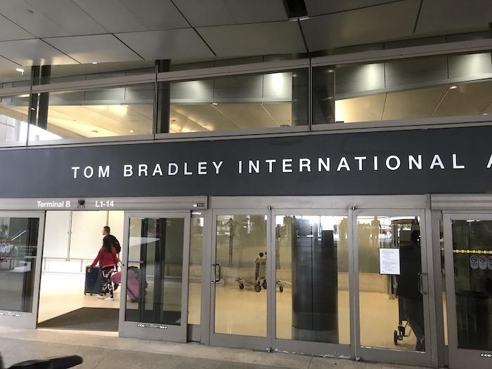 ロサンゼルス空港トムブラッドレイ国際線ターミナル