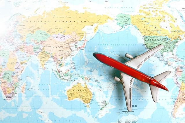 マイル特典で世界一周航空券