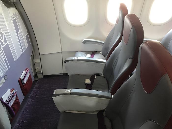 香港エクスプレスの座席指定 スイートシート