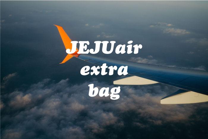 チェジュ航空荷物追加
