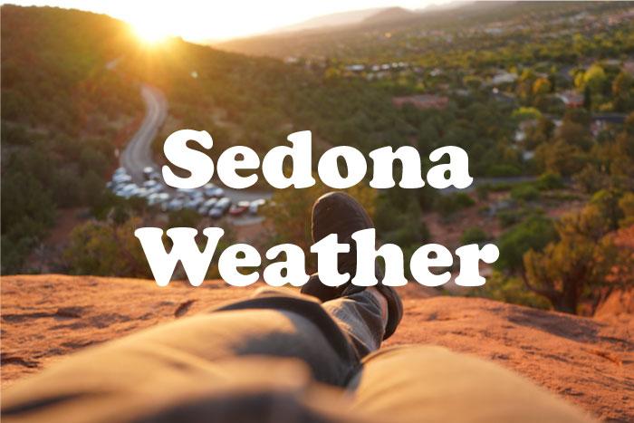 セドナ 天気と気温