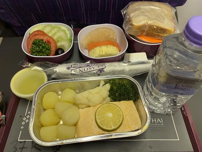タイ国際航空 機内食