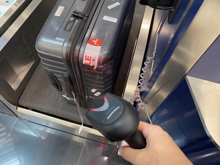香港航空のチェックイン時預け荷物
