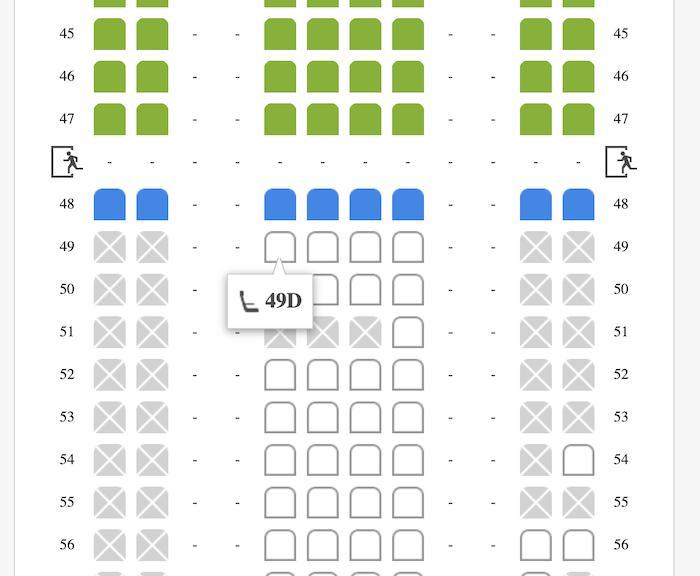 香港航空の座席指定のやり方