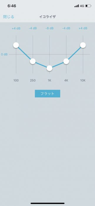 SHURE MV88Aイコライザー