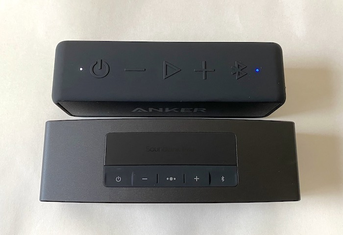 BOSE SOUNDLINK MINI II Special EditionとANKER SoundCore 2比較