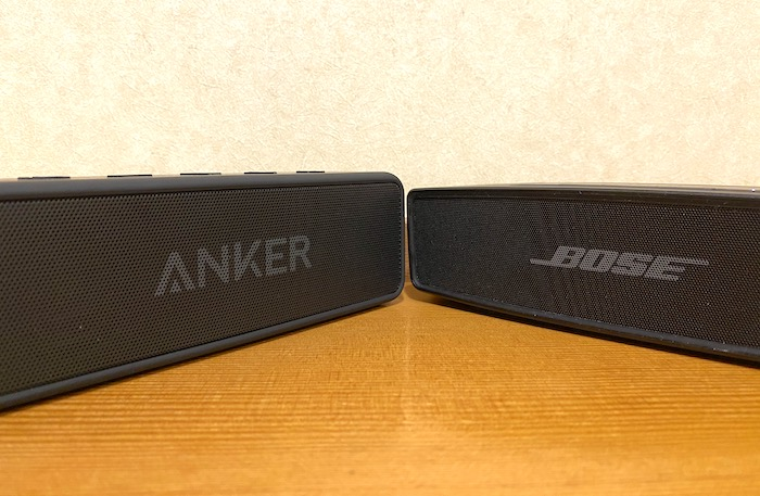 BOSE SOUNDLINK MINI II Special EditionとANKER SoundCore 2各項目比較