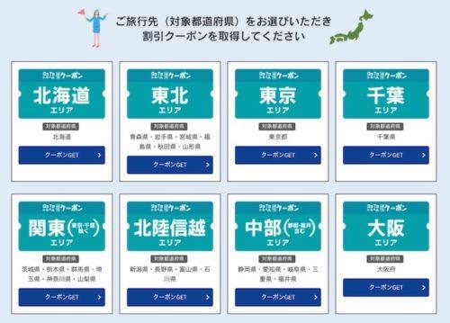 近畿日本ツーリストのGoToクーポン