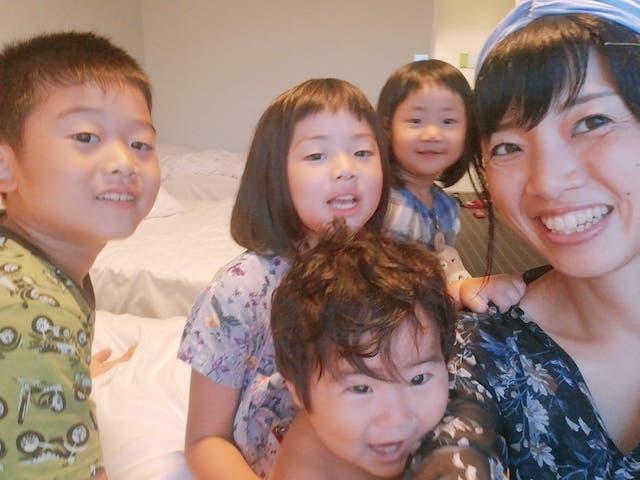 まっちと子供4人